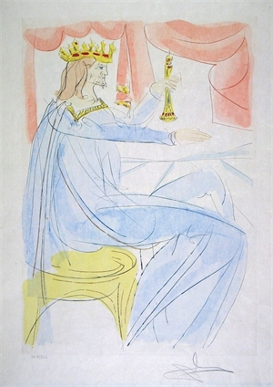 King Solomon (from Our Historical Heritage, suite of 11), 1975
