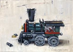 Train Engine by Dianne L Massey Dunbar