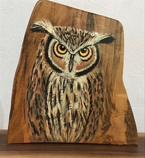 Owl mantel piece, 2020