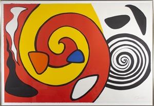 Spirale Et Turban(E.A), 1975