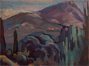 Cezanne's Mountain by Nina Weiss