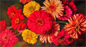 Zest for Zinnias, 2019