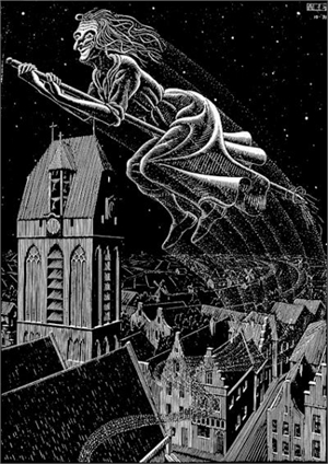 Scholastica (Flying Witch), 1931