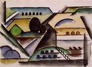 Modernist Landscape, 1933