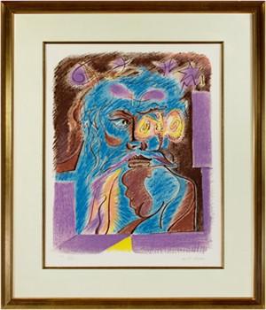 Le Philosophe Au Papillon from Je Reve (I Dream) Portfolio (XXll/XXV), c. 1975