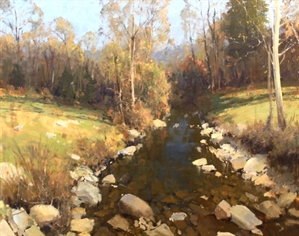 Fall Creek Splendor by Roger Dale Brown