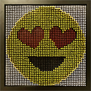 Emoji- Smiley Heart, 2019