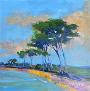 Sun on Palm by Linda Richichi