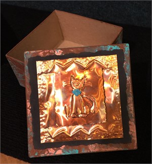 Copper Wish Box - Cat #8, 2019