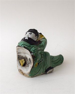 BISCUIT FIGURE OF LI TAIBO WATER DROPPER, Chinese, 18th century