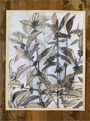 Tea Olive Break Down (grey), 2019