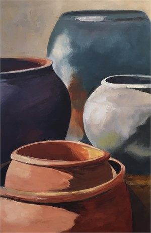 Clay Pot Series IV, 2018