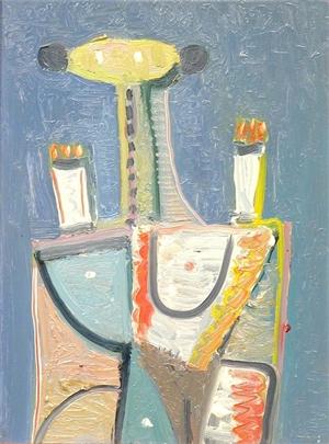 Figure Face Up, 1993