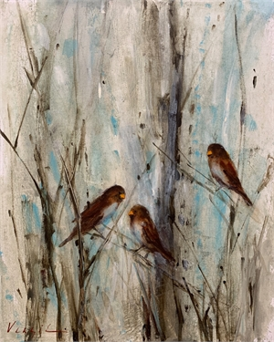 Feathered Friends II by Mary Miller Veazie