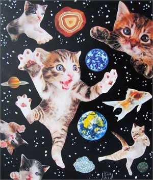 Space Cats #4, 2018