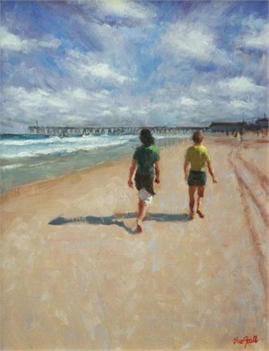 Walking the Beach, 2018