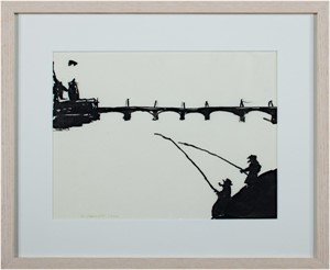 Fishing in Amsterdam, 1962