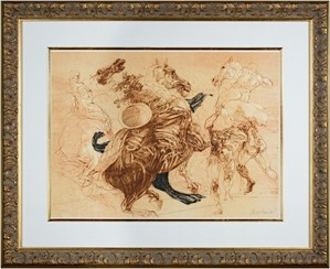 Homage a Leonardo d'Vinci (Battle Scene I from De La Bataille Vol. I), 1978