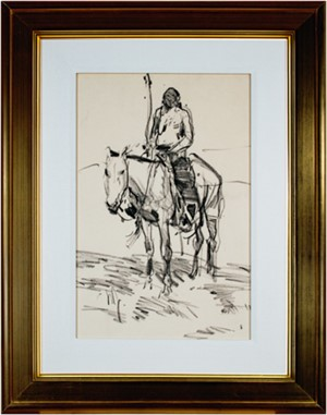 Indian On Horse, 2010