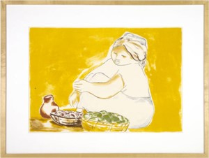 Untitled (Woman w/ 2 basket and 1 pitcher), 1981