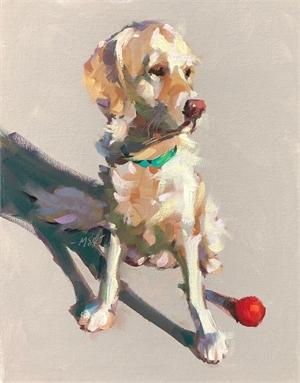 """MARJORIE S HICKS, """"Sunny Pup"""""""