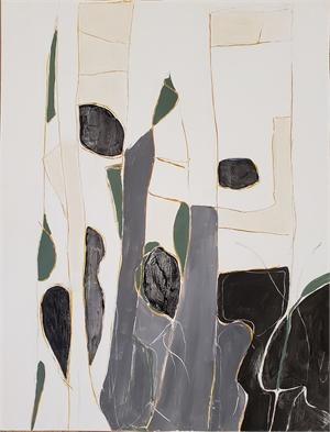 Seedlings in gray I, 2020