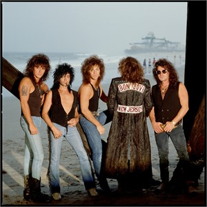 88130 Bon Jovi Band Under the Pier Color, 1988