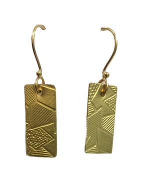 Earring - Single Brass Charm - Assorted Designs