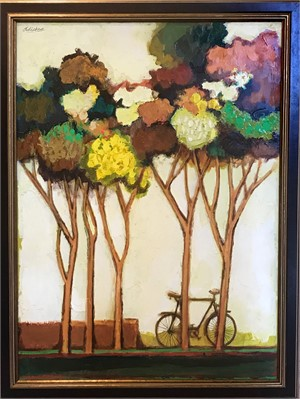 Spring Trees with Bike