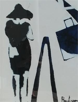 Fashion Plate V by Gary Bodner