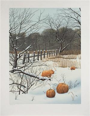Pumpkin Field, Ed: 100/275, 1985