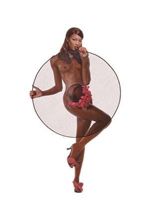 95101 Naomi Campbell Pin Up Color, 1995