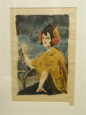 Femme Espanol #24 (Juana Fernandez), 1896