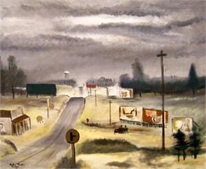 Cluttered Landscape, 1947