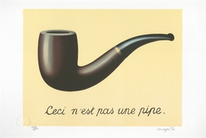 La Trahison des Images (The Treachery of Images) (128/300), 2011