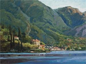 Lake Como Villa by Howard Friedland, OPAM