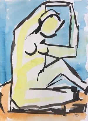 Figure Drawing #12, 2018