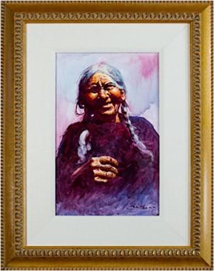 Vieja Del Sitio (Old Woman)-Cuzco, 1992