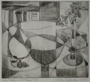 The Table in the Library (1/8), 1955