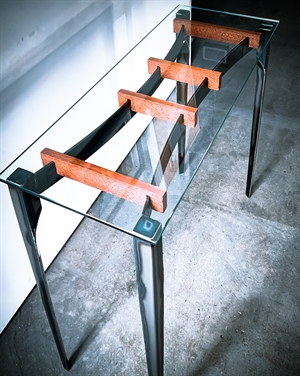 En Point, entry table, 2020