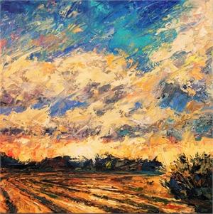 Plowed Field by Phil Turner