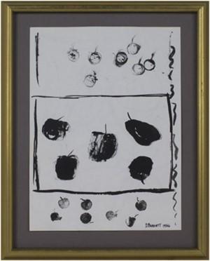 Cherries, Persimmons & Pear, 1966
