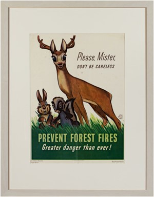 Prevent Forest Fires (US Dept of Agriculture Forest Service), 1943