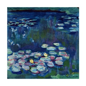 Giverny Water Lilies: Blue II, 2011