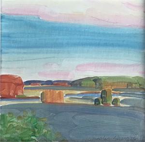 Marsh Study #6, 2018