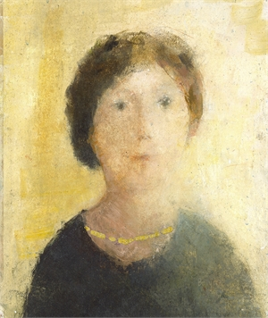 The Gold Necklace by David Brayne R.W.S.