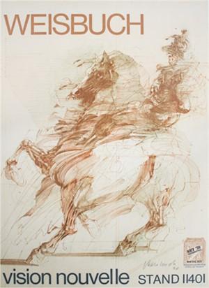 Affiche-Le Condottiere, signed, 1978