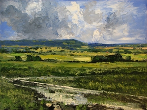 Wabaunsee - Spring Rain #1 by James Pringle Cook