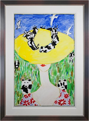 Yellow Cow Hat, 1996