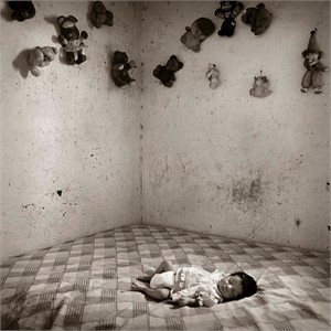 Border Baby, Boquillas, Mexico (1/25), 1995